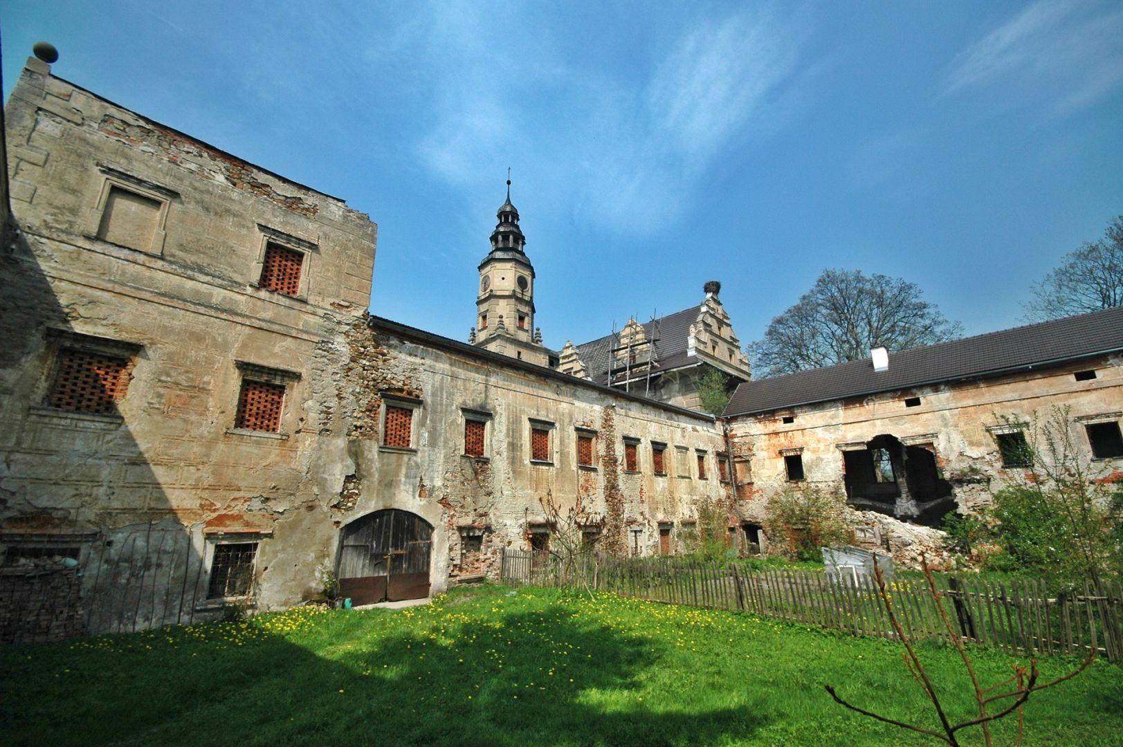 Zamek w Gorzanowie