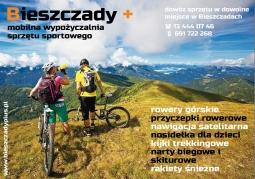 Mobilna wypożyczalnia sprzętu sportowego Bieszczady Plus - Lutowiska