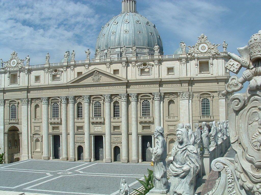 Miniatura Bazyliki św. Piotra na Watykanie