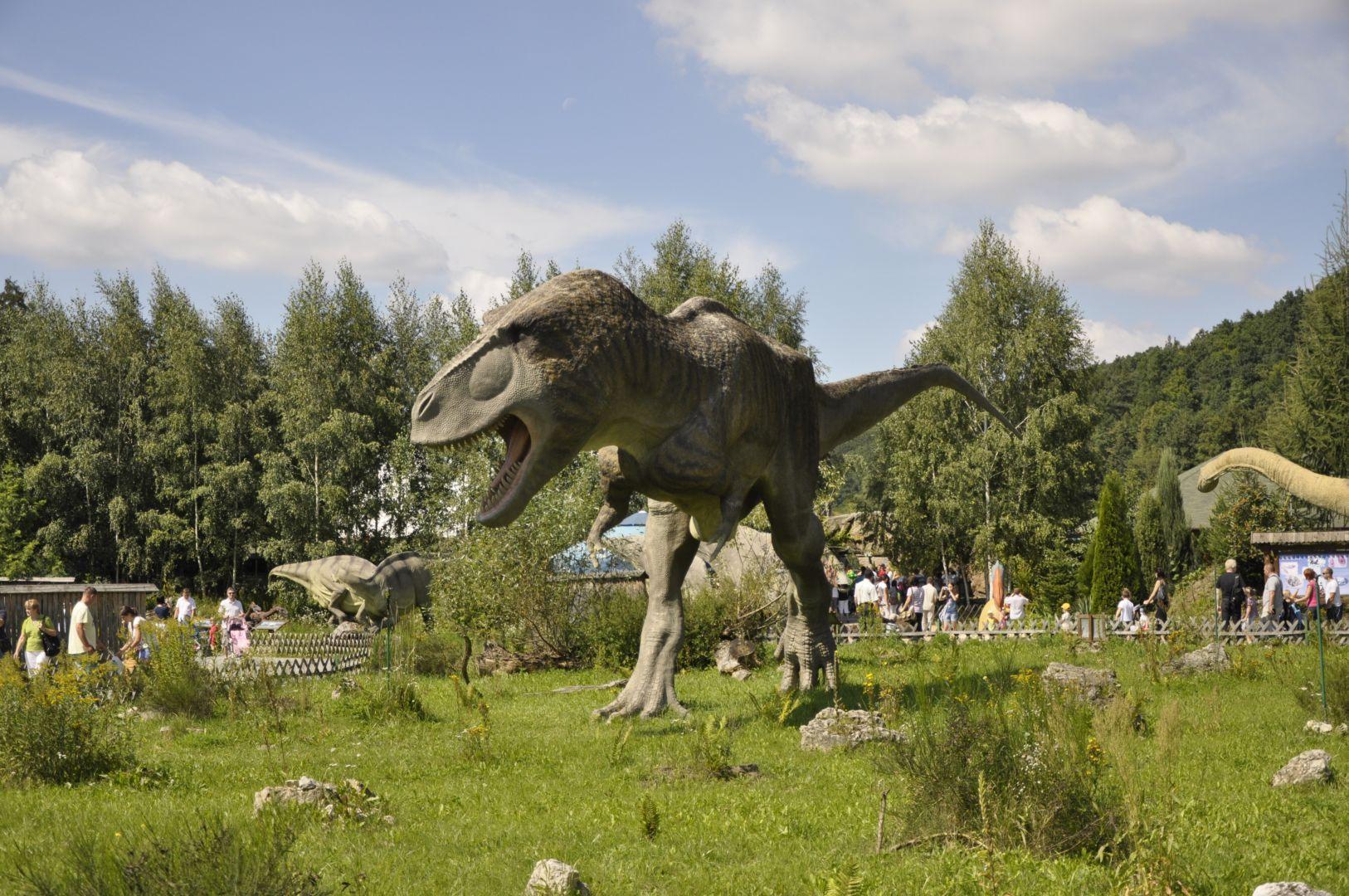 Ścieżka dydaktyczna - model Tyranozaura