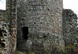 Ruiny Zamku Cisy - Książański Park Krajobrazowy