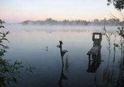 Jezioro w Borach Tucholskich