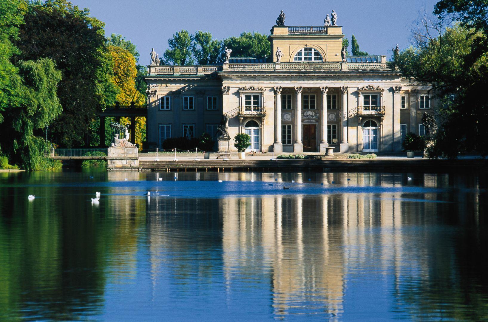 Zdjęcie Pałac Na Wyspie łazienki Królewskie Warszawa