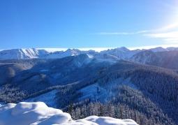 Zimowy widok z Nosala