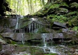 Wodospad Czartów Młyn