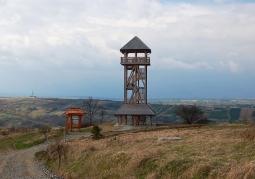 Drewniana wieża widokowa