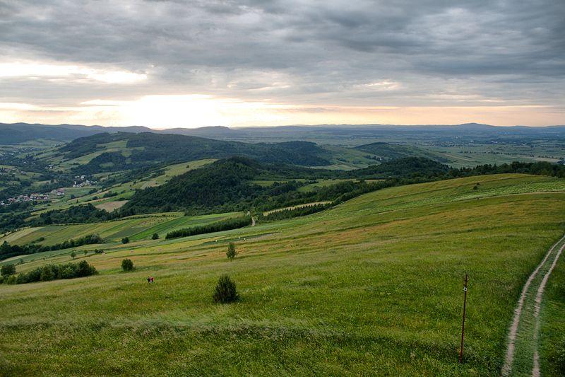 Widok z Grzywackiej Góry
