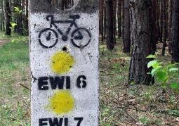 Zdjęcie: Oznaczenie szlaków rowerowych