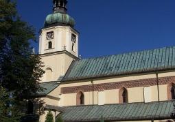 Południowa fasada kościoła klasztornego