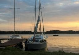 lato nad Jeziorem Powidzkim