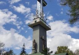 Krzyż z platformą widokową