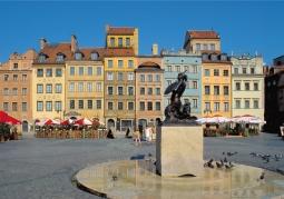 Warszawska syrenka -Rynek Starego Miasta