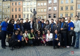 Wycieczka z grupą z Tajlandii