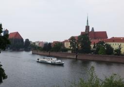 Widok na odrę z Wzgórza Polskiego