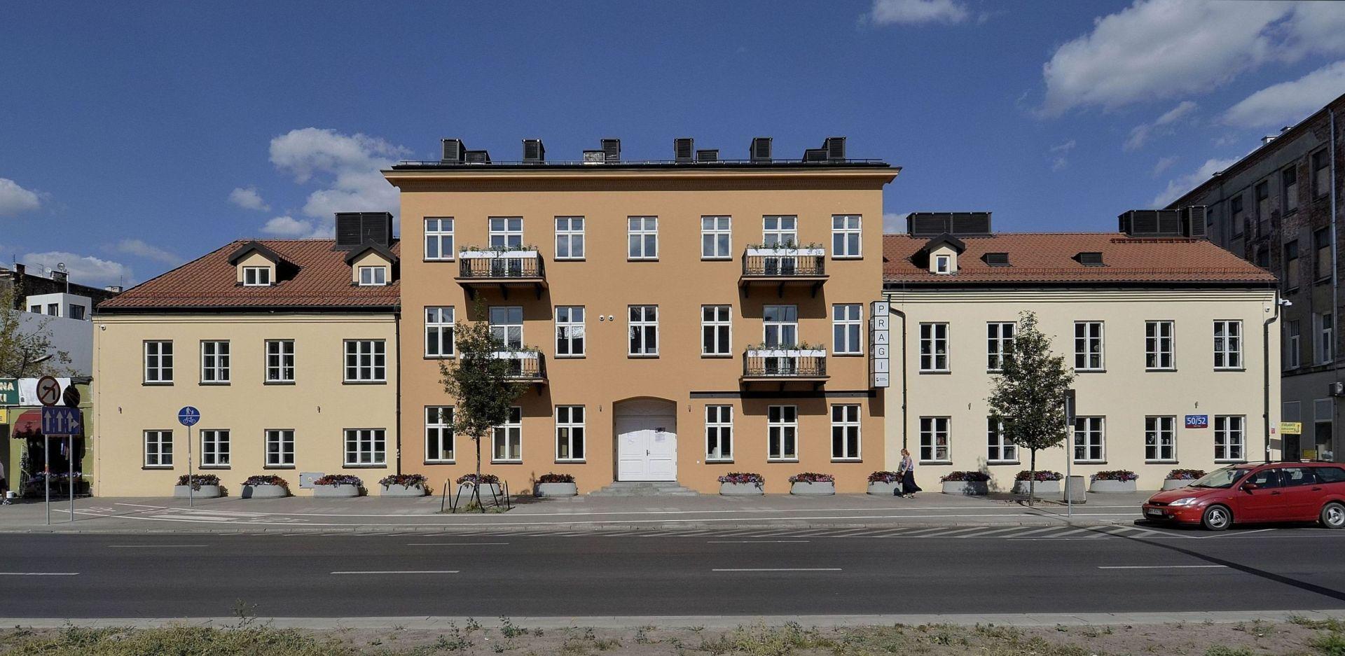 Kompleks budynków Muzeum Warszawskiej Pragi