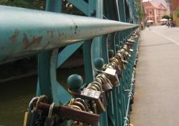 Kłódki na moście