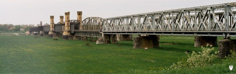 Zabytkowy most tczewski
