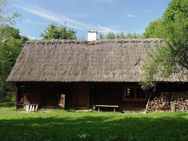 Jedna z chat w Muzeum Wsi Opolskiej
