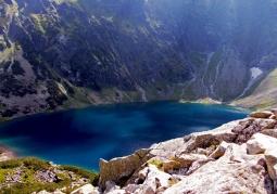 Czarny Staw pod Rysami - Tatrzański Park Narodowy