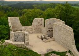Ruiny Zamku Rycerskiego - Smoleń