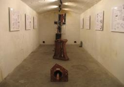 Wystawa w schronie amunicyjnym
