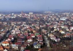 Panorama Tarnowa z Góry św. Marcina