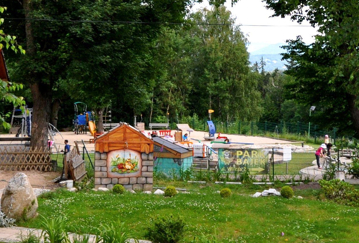Park Bajek w Karpaczu