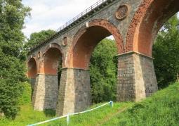 Zabytkowy most kolejowy - Bytów