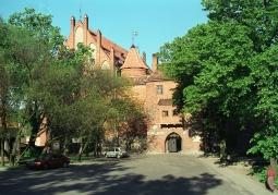 Zamek w Kętrzynie, wejście