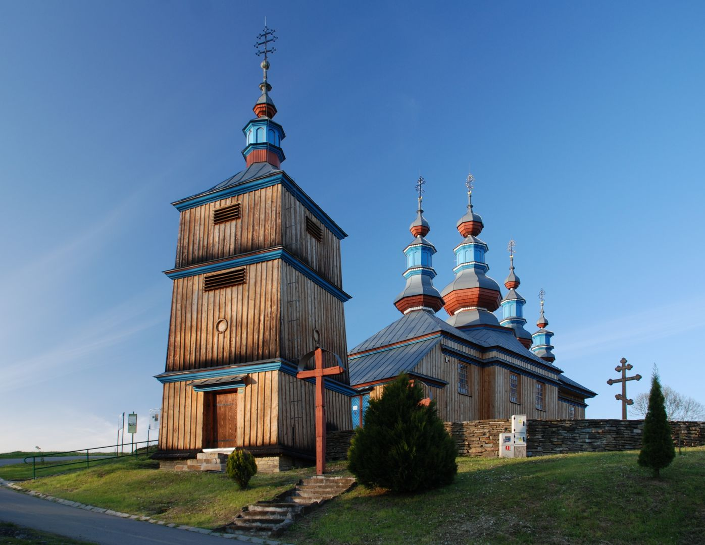 Cerkiew prawosławna w Komańczy