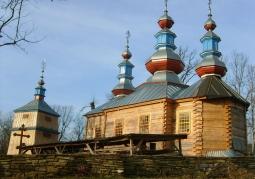 Cerkiew w trakcie odbudowy