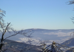 Widok od strony północno-zachodniej z Niedźwiedzic