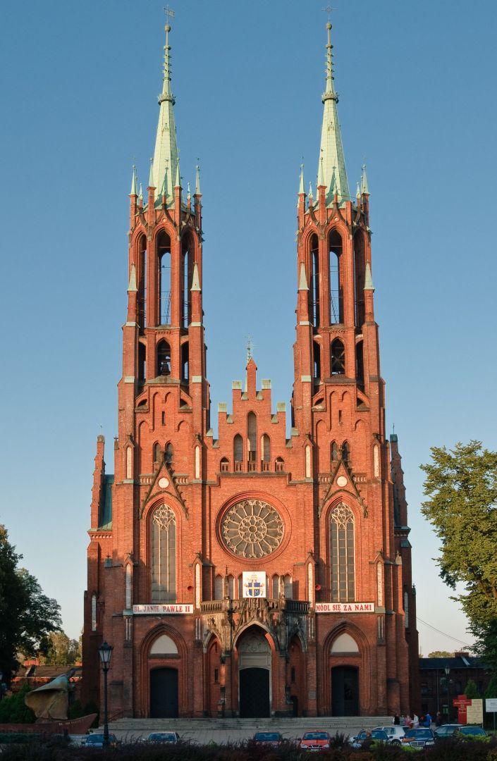 Fasada żyrardowskiego kościoła