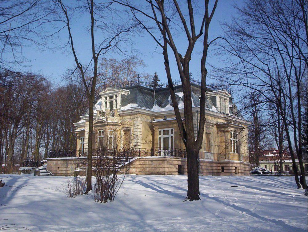 Budynek pałacu jako siedziba muzeum