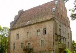 Fragment pokrzyżackiej budowli