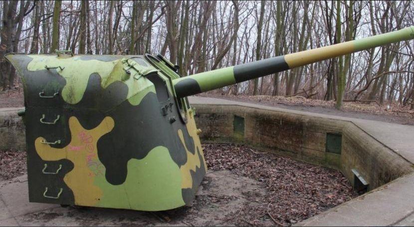 Bateria artyleryjna w Redłowie