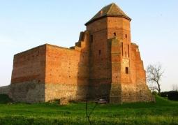 Ruiny gotyckiego zamku