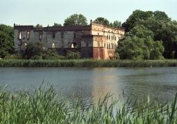 Ruiny zamku w Krupem