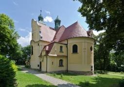 Widok kościoła od zachodu