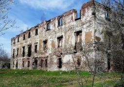 Ruiny Zamku Grodztwo - Kamienna Góra