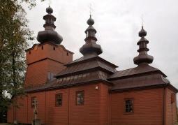 Cerkiew, strona południowa