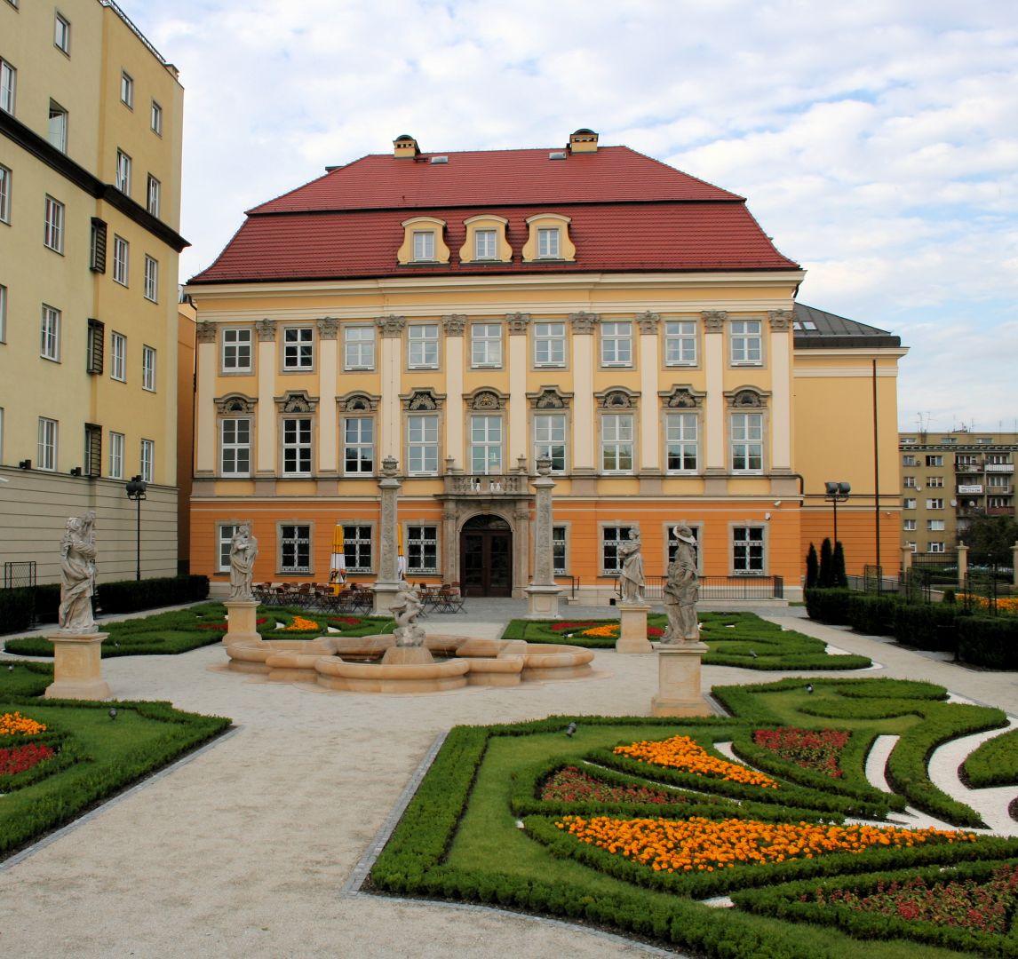 Pałac po renowacji