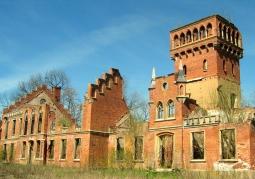 Ruiny pałacu von Eulenburg - Prosna