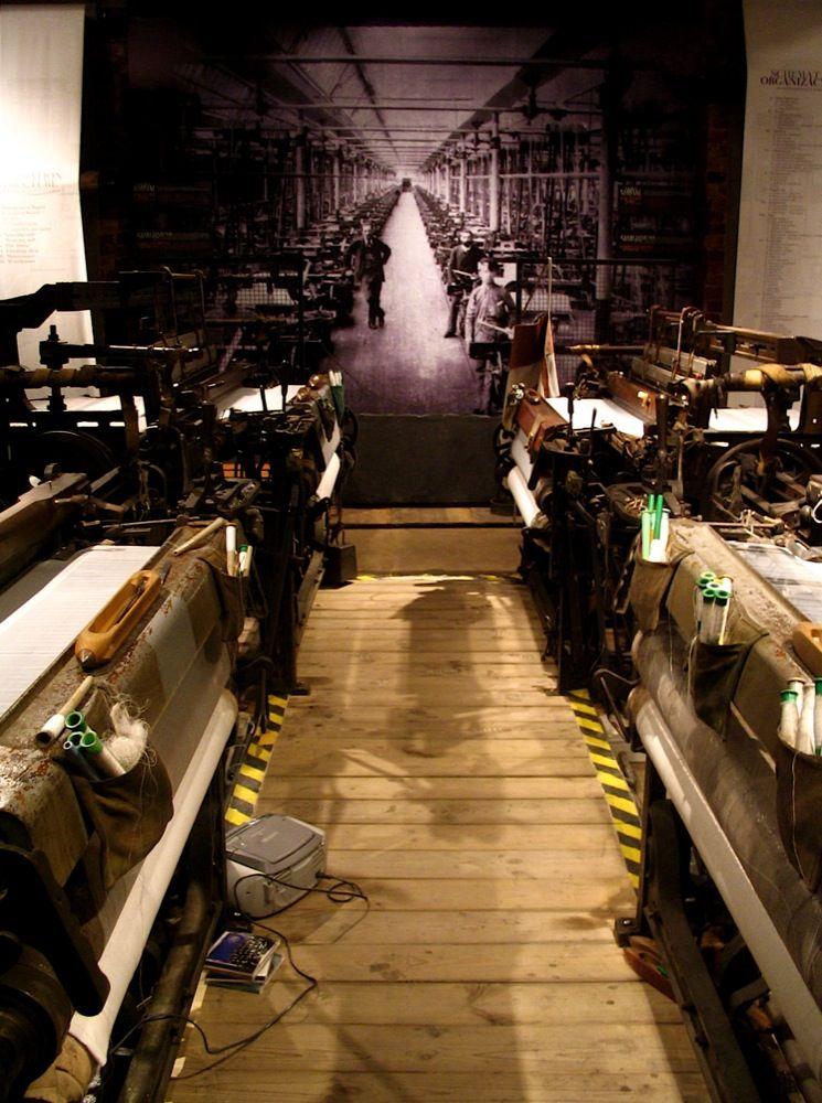 Wnętrze Muzeum Fabryki