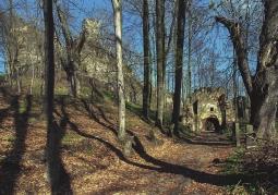 Ruiny wiosną