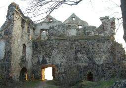 Ruiny zamku Gryf - Proszówka