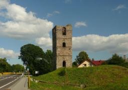 Ruiny wieży w Stołpiu