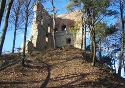 Ruiny zamku rycerskiego - Melsztyn
