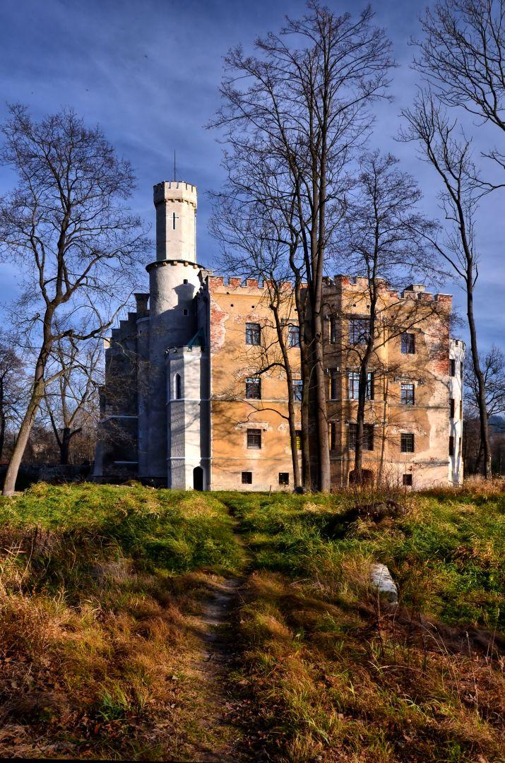 Zamek, widok ogólny