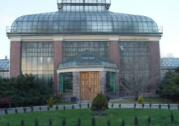 Główny budynek palmiarni